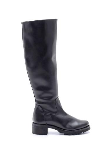 Derimod Kadın Çizme (Sb-3001) Klasik Siyah